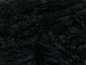 Fiber Content 100% Micro Fiber, Brand ICE, Black, Yarn Thickness 6 SuperBulky  Bulky, Roving, fnt2-58809