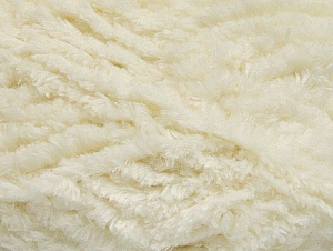 Fiber Content 100% Micro Fiber, Brand ICE, Cream, Yarn Thickness 6 SuperBulky  Bulky, Roving, fnt2-58811