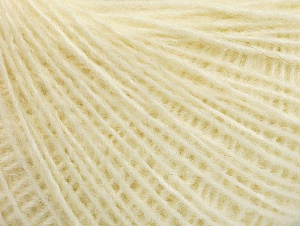 Fiber Content 50% Acrylic, 50% Wool, Brand ICE, Cream, fnt2-58828