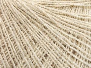 Fiber Content 50% Wool, 50% Acrylic, Brand ICE, Beige, fnt2-58829