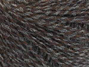 Fiber Content 50% Merino Wool, 25% Acrylic, 25% Alpaca, Brand ICE, Grey, Brown, Yarn Thickness 2 Fine  Sport, Baby, fnt2-58834