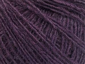 Fiber Content 50% Wool, 50% Acrylic, Purple, Brand ICE, fnt2-58852