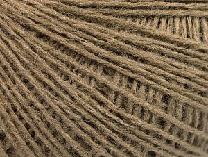 Fiber Content 50% Wool, 50% Acrylic, Brand ICE, Camel, fnt2-58865