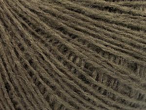 Fiber Content 50% Wool, 50% Acrylic, Brand ICE, Dark Khaki, fnt2-58870