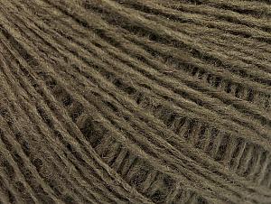 Fiber Content 50% Wool, 50% Acrylic, Khaki, Brand ICE, fnt2-58871