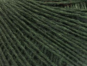 Fiber Content 50% Wool, 50% Acrylic, Brand ICE, Dark Green, fnt2-58872