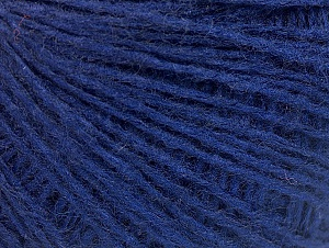 Fiber Content 50% Wool, 50% Acrylic, Brand ICE, Dark Blue, fnt2-58879