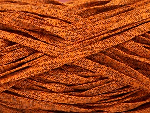 Fiber Content 82% Viscose, 18% Polyester, Brand ICE, Gold Melange, Yarn Thickness 5 Bulky  Chunky, Craft, Rug, fnt2-58904