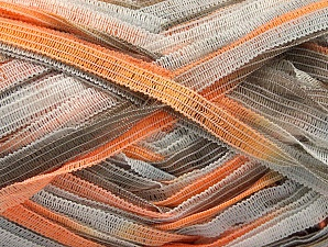 Fiber Content 100% Polyamide, White, Orange, Brand ICE, Camel, Yarn Thickness 4 Medium  Worsted, Afghan, Aran, fnt2-58920