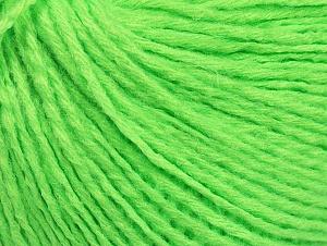 Fiber Content 50% Wool, 50% Acrylic, Neon Green, Brand ICE, fnt2-58931