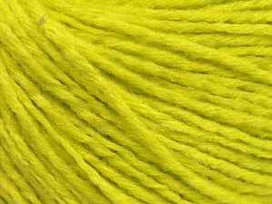 Fiber Content 50% Acrylic, 50% Wool, Neon Yellow, Brand ICE, Yarn Thickness 3 Light  DK, Light, Worsted, fnt2-58932