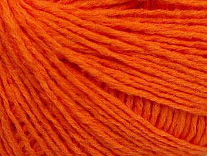 Fiber Content 50% Wool, 50% Acrylic, Orange, Brand ICE, fnt2-58937