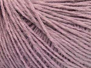 Fiber Content 50% Acrylic, 50% Wool, Light Lilac, Brand ICE, fnt2-58938