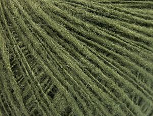 Fiber Content 50% Wool, 40% Acrylic, 10% Polyamide, Khaki, Brand ICE, Yarn Thickness 2 Fine  Sport, Baby, fnt2-58969