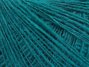 Fiber Content 50% Wool, 40% Acrylic, 10% Polyamide, Brand ICE, Emerald Green, fnt2-58979