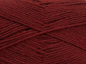 Fiber Content 75% Superwash Wool, 25% Polyamide, Brand ICE, Dark Burgundy, fnt2-59002