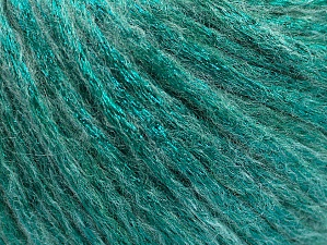 Fiber Content 70% Polyamide, 19% Merino Wool, 11% Acrylic, Brand ICE, Emerald Green, fnt2-59036