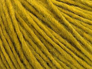 Fiber Content 50% Merino Wool, 25% Alpaca, 25% Acrylic, Olive Green, Brand ICE, fnt2-59040