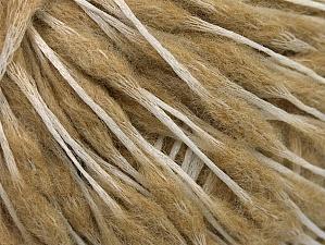 Fiber Content 50% Wool, 50% Polyamide, Brand ICE, Cream, Beige, fnt2-59043