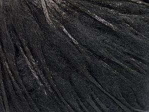 Fiber Content 50% Wool, 50% Polyamide, Brand ICE, Black, fnt2-59044
