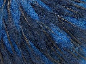 Fiber Content 50% Wool, 50% Polyamide, Navy, Brand ICE, Blue, fnt2-59051