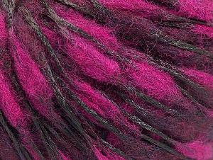 Fiber Content 50% Wool, 50% Polyamide, Maroon, Brand ICE, Fuchsia, fnt2-59052