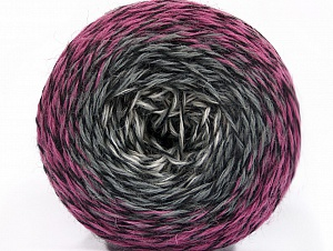Fiber Content 75% Superwash Wool, 25% Polyamide, White, Orchid, Brand ICE, Grey, Black, fnt2-59065