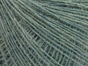 Fiber Content 50% Acrylic, 30% Wool, 20% Mohair, Turquoise, Brand ICE, fnt2-59101