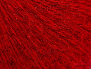 Fiber Content 55% Acrylic, 5% Polyester, 15% Alpaca, 15% Wool, 10% Viscose, Red, Brand ICE, Yarn Thickness 2 Fine  Sport, Baby, fnt2-59212