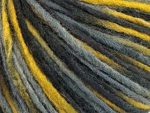Fiber Content 50% Acrylic, 50% Wool, Olive Green, Brand ICE, Grey, Black, fnt2-59315