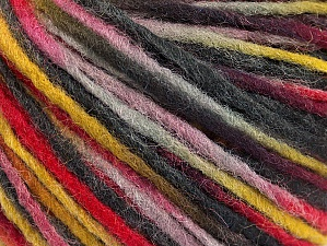Fiber Content 50% Acrylic, 50% Wool, Red, Olive Green, Brand ICE, Grey Shades, fnt2-59318
