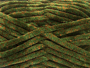 Fiber Content 75% Micro Fiber, 25% Acrylic, Orange, Brand ICE, Green, fnt2-59324