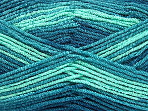 Fiber Content 100% Acrylic, Teal, Mint Green, Brand ICE, fnt2-59340