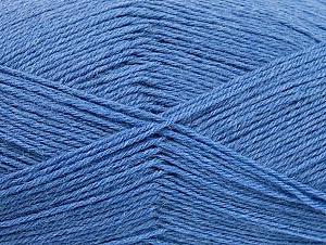 Fiber Content 75% Superwash Wool, 25% Polyamide, Jeans Blue, Brand ICE, fnt2-59493