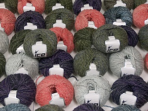 Sale Winter This mixed lot includes a total of 2000 gr (70.5 oz.) yarn. There is no standard for ball weight. Also disregard any information on the labels. You will get what you see in the photo. Fiber Content 45% Wool, 45% Acrylic, 10% Polyamide, Brand ICE, fnt2-59656