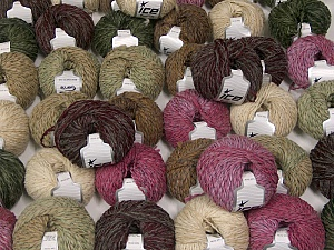 Sale Winter This mixed lot includes a total of 2000 gr (70.5 oz.) yarn. There is no standard for ball weight. Also disregard any information on the labels. You will get what you see in the photo. Fiber Content 45% Acrylic, 45% Wool, 10% Polyamide, Brand ICE, fnt2-59657