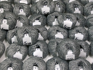 Rock Star DK This mixed lot includes a total of 2000 gr (70.5 oz.) yarn. There is no standard for ball weight. You will get what you see in the photo. Fiber Content 60% Polyamide, 21% Acrylic, 19% Merino Wool, Brand ICE, fnt2-59664
