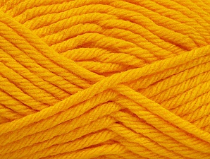 Fiber Content 100% Acrylic, Yellow, Brand ICE, Yarn Thickness 6 SuperBulky  Bulky, Roving, fnt2-59740