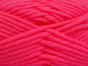 Fiber Content 100% Acrylic, Neon Pink, Brand ICE, Yarn Thickness 6 SuperBulky  Bulky, Roving, fnt2-59741