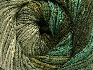 Fiber Content 70% Acrylic, 30% Merino Wool, Khaki, Brand ICE, Green Shades, Yarn Thickness 2 Fine  Sport, Baby, fnt2-59774