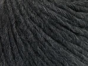 Fiber Content 50% Acrylic, 50% Wool, Brand ICE, Anthracite Black, fnt2-59798