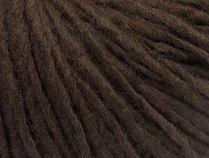 Fiber Content 50% Acrylic, 50% Wool, Brand ICE, Coffee Brown, fnt2-59799