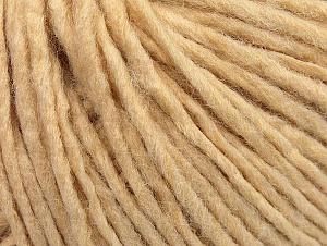 Fiber Content 50% Acrylic, 50% Wool, Brand ICE, Dark Cream, fnt2-59800