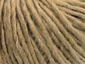 Fiber Content 50% Wool, 50% Acrylic, Light Camel, Brand ICE, fnt2-59805