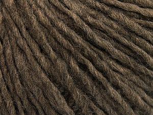Fiber Content 50% Acrylic, 50% Wool, Brand ICE, Brown Melange, fnt2-59807