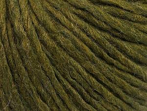 Fiber Content 50% Acrylic, 50% Wool, Jungle Green, Brand ICE, fnt2-59809