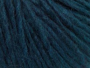 Fiber Content 50% Acrylic, 50% Wool, Brand ICE, Dark Teal, fnt2-59816