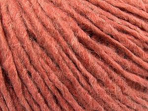 Fiber Content 50% Acrylic, 50% Wool, Salmon, Brand ICE, fnt2-59826