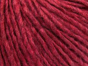 Fiber Content 50% Acrylic, 50% Wool, Brand ICE, Fuchsia Melange, fnt2-59828