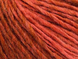 Fiber Content 50% Wool, 50% Acrylic, Salmon, Olive Green, Brand ICE, fnt2-59842